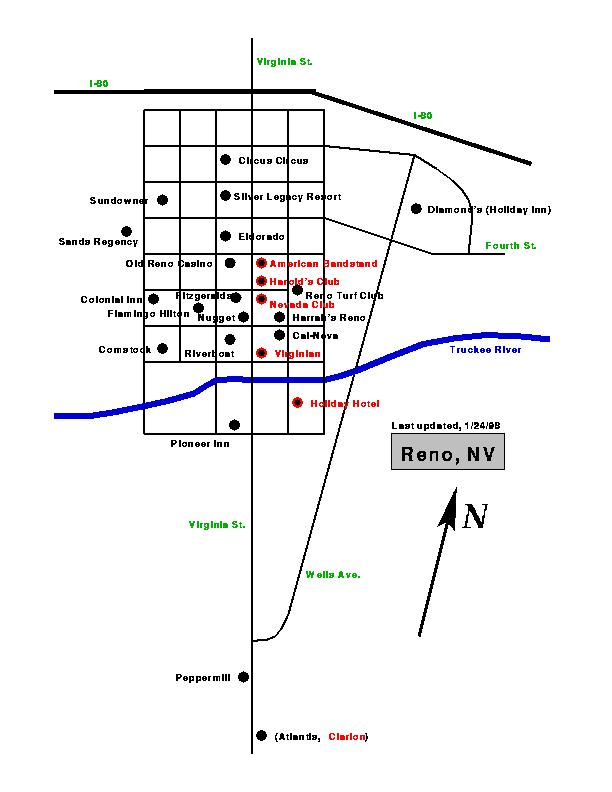 Reno nevada map of casinos jim rigot casino